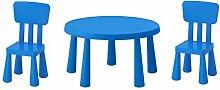 Ikea Mammut Kindertisch blau und Mammut