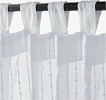 IKEA Matilda Gardinen 1 Paar, weiß 101.119.84