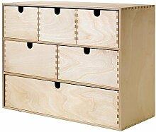 Ikea Mini Holz Kommode 6Schubladen,