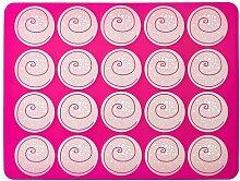 IKEA MONSTRAD - Oven/baking mat, pink - 40x30 cm