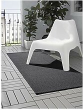 Ikea MORUM Teppich aus Baumwollgewebe, flach,