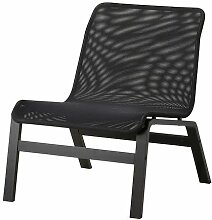 IKEA NOLMYRA -Sessel schwarz schwarz