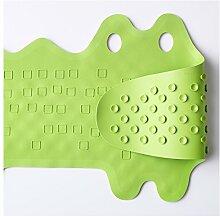 Ikea PATRULL Wanneneinlage Krokodil grün
