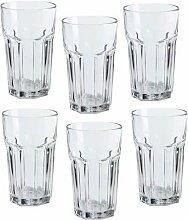 Ikea Pokal-Gläser, 340 ml Becher, 6 Stück