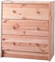 Ikea RAST Kommode mit 3 Schubladen; aus Kiefer