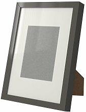 Ikea RIBBA - Frame, High-Gloss, Grey - 21x30 cm