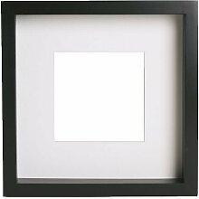 blanko ohne Ausschnitt laser crafts Acryl-Ersatzrahmen f/ür IKEA Ribba 9 x 9 23 cm Rahmen