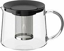 IKEA RIKLIG Teekanne Glas 1,5 l