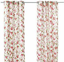 IKEA ROSALI -Gardinen 1 Paar weiß - 145x300 cm