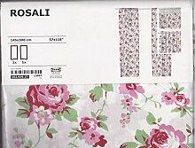 Ikea Rosali Gardinenschal - 2 Stück 145 cm x 300