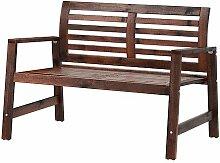 IKEA Sitzbank Applaro Holz braun