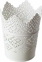 IKEA SKURAR Kerzenschale–Kerzenhalter, weiß, 11cm, 11 cm