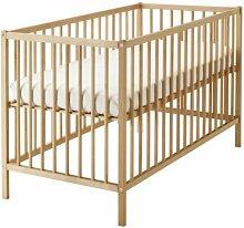 Ikea Sniglar Kinderbett, Buche, 60 x 120 cm