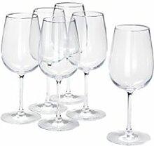 IKEA STORSINT Weinglas Klarglas