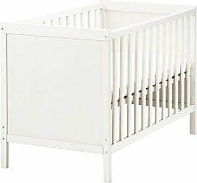 IKEA SUNDVIK -Kinderbett weiß - 60x120 cm