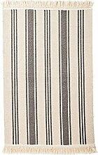 Ikea Teppich Signe Baumwolle 55 x 85cm (beige-grau)