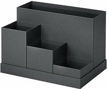 Ikea TJENA Schreibtisch Organizer Schwarz
