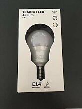 IKEA TRADFRI LED-Lampe in opalweiß;