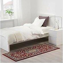 IKEA Vedbak Teppich, niedriger Flor, 80 x 180 cm,