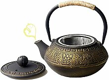 IKJN Gusseiserne Teekanne Japanische Teekanne