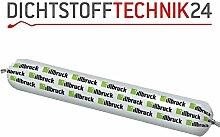 Illbruck SP525 Hochbaufugen Dichtstoff elastische Abdichtung Anschlussfugen Bewegungsfugen Adichtung Fenster Türen 600ml Schlauch (weiss)