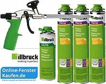 illbruck Sparset S Fensterschaum+Reiniger+Pistole