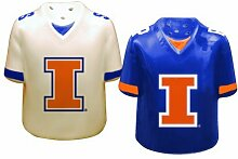 Illinois Gameday Salt and Pepper Shaker by The