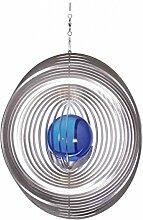 Illumino Edelstahl-Windspiel Kreis mit