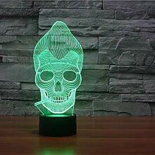 Illusion Lampe Nachtlicht 3D optische Täuschung