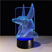 Illusion LED Nachtlicht 1Stück 7Colors Change