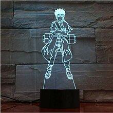 Illusion LED Nachtlicht 7 Farben Ändern 3D Visual