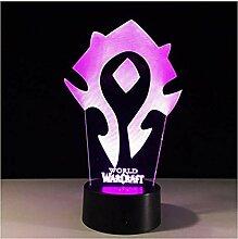 Illusion Wow World of Warcraft LED Schreibtisch