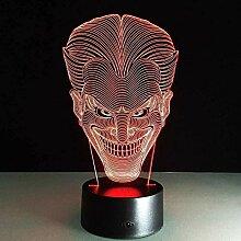 Illusionslicht Halloween Kinder Geschenk 3D Lampe