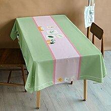 Illustration Cat Rechteckige Tischdecke Kleine