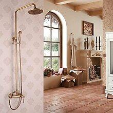 Im europäischen Stil Kupfer antik Dusche dusche