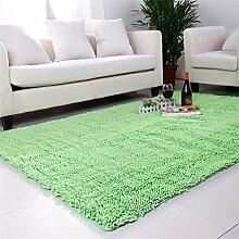 Im europäischen Stil Modern Minimalist Wohnzimmer Couchtisch Teppich, Schlafzimmer voller Teppiche, Bettdecke / Matratze / Mat, High-Density Super Absorbent Teppich ( farbe : # 4 , größe : 80*200cm )