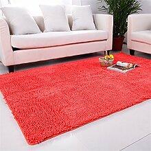 Im europäischen Stil Modern Minimalist Wohnzimmer Couchtisch Teppich, Schlafzimmer voller Teppiche, Bettdecke / Matratze / Mat, High-Density Super Absorbent Teppich ( farbe : # 5 , größe : 140*200CM )