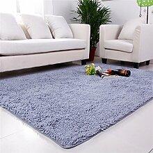 Im europäischen Stil Modern Minimalist Wohnzimmer Couchtisch Teppich, Schlafzimmer voller Teppiche, Bettdecke / Matratze / Mat, High-Density Super Absorbent Teppich ( farbe : #1 , größe : 60*140cm )