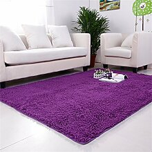 Im europäischen Stil Modern Minimalist Wohnzimmer Couchtisch Teppich, Schlafzimmer voller Teppiche, Bettdecke / Matratze / Mat, High-Density Super Absorbent Teppich ( farbe : # 4 , größe : 60*140cm )