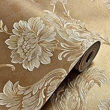 Im europäischen Stil,Vliestapeten,3D,dreidimensional,feinen Druck,Damaskus Hintergrund,Tapeten,Wohnzimmer,Schlafzimmer Tapete,Farbe