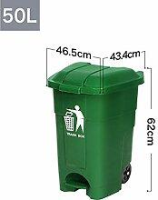 Im Freien Abfalleimer 50L mit Abfalleimer (Farbe :