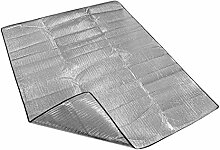 Im Freien Grill Reise Beständig Gegen Feuchtigkeit Aluminiumfolie Für Familie Zelte Picknick-Matten Decken Camping Faltbar 200 * 150cm,200*150cm