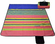 Im Freien Grill Reise Dick Feuchtigkeitsfest Picknickmatte Zelt Isomatte 200 X 200 Cm,F