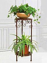 Im Freien Kraut Blumen Pflanze steht Blumentopf Regal, Blumenständer, Pflanze Stand Bügeleisen Wohnzimmer Blumenständer Mehrgeschoss Boden Blumen Regal Balkon Indoor Flower Rack Im Freien Kraut Blumen Pflanze steht ( Farbe : B , größe : 60 )