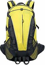 Im Freien Wasserdichten Bergrucksack Größe: 27cm * 21cm * 52cm,Yellow