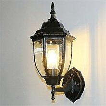 Im Freienhinterhoflampe-Wandlampe der Wandlampe im