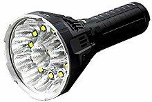 IMALENT MS12 LED-Taschenlampe, MS12 W x XHP70 8