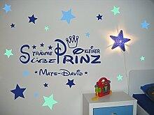 imalo® Wandtattoo mit Namen fürs Kinderzimmer ~