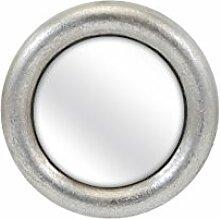 Imax Delaney Wandspiegel rund, Silber