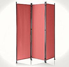 IMC Manufactoria Paravent Raumteiler Trennwand rot